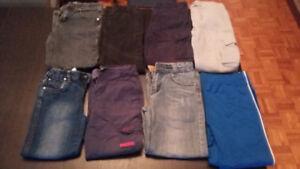 Lots de vêtements garçon grandeur 7-8 ans (chandail, pantalon..)