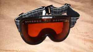 For sale, smith snowboarding goggles.