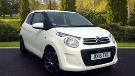 2016 Citroen C1 1.0 VTi Feel 3dr LOW MILES + F Manual Petrol Hatchback