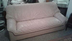 Sofa, Loveseat and Chair 100% leather by Palliser $1,200.00