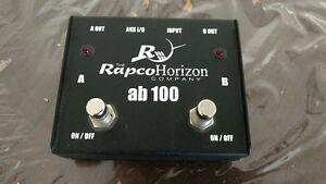 RapcoHorizon AB-1 A/B Passive Switching Box!!