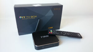 T95 Android Media TV Box - 1 Month IPTV Service Included!