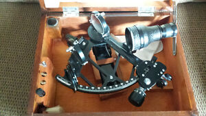 Marine Sextant with certificate of qualification (practical)