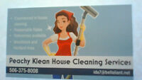 Peachy Klean House Cleaning Services