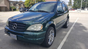 Mercedes Benz ML430 (very clean & beautiful, low mileage 149000)