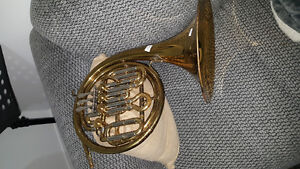 Two horns for sale French horn and baritone