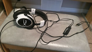 Kingston HyperX Cloud Gaming Headset - White (KHX-H3CLW)