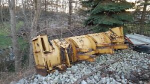 Snow Pusher Plow for Backhoe