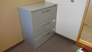 Assorted Filing Cabinets and Display Shelves for Sale!