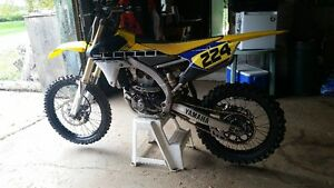 2016 YZ250F 60th Anniversary Edition - low hours, like new Peterborough Peterborough Area image 2
