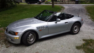 Bmw z3 cabriolet raodster convertible