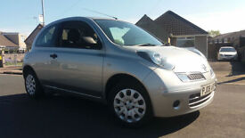 2008 08 NISSAN MICRA 1.2 16V (79bhp) VISIA+.NICE LOW MILEAGE EXAMPLE.FACELIFT.