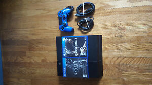 PS4 with 2 games and 1 controller