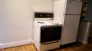 Fridge and stove for 100$ both