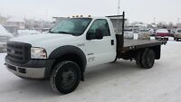 2005 Ford F-550 with 120000km