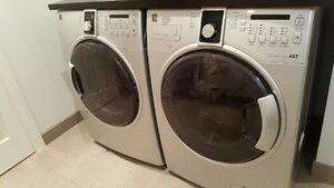 "QUICK SALE ""Kenmore"" frontload side by side WASHER & DRYER"