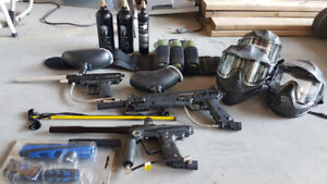 Collection of Paintball Gear (20 Items) - $300