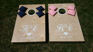 Cornhole Boards/Bean Bag Toss Game