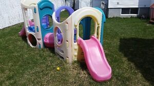 Keep the kids out your hair. Little Tikes Jungle Gym