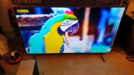 "Samsung 55"" inch smart 4k ultra HD HDR LED tv"