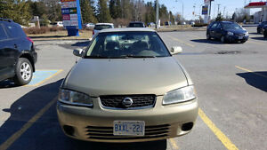 2003 Nissan Sentra Sedan - good condition