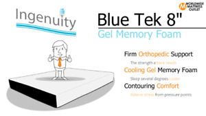 WMO Mattress of the Month! 8 Inch Gel Memory Foam is 20% OFF!