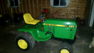 Looking for john deere 420 attachments