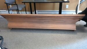 Solid Maple MANTLE - for Fireplace or Wall Display Kitchener / Waterloo Kitchener Area image 3