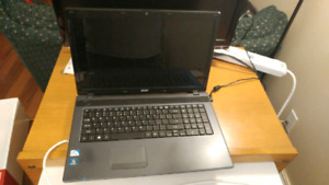 17 inch ACER laptop, great for someone.