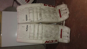 CCM Extreme Flex500 Full goalie set + helmet and three sticks