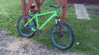 2014 scott hard tail dirt jumper like new