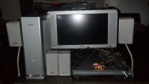Panasonic & Philips Complete Home Theatre System + remote.