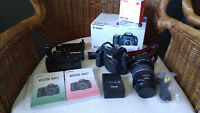 Canon 60D with EF-S 17-85mm F4-5.6 IS USM Lens with Grip & More