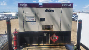 60kVA Generator with external fuel cell