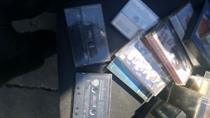 CASSETTES $1 Each or 3 for $2 Setting Up Garage Sale