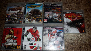 Ps3 games.  $30 takes them all. NO HOLDS