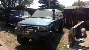 1992 Toyota Pickup mud truck with solid axle swap 8000 OBO