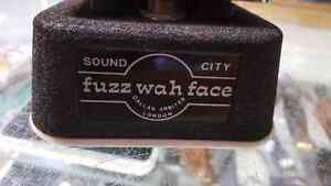 Vintage Dallas Arbiter Fuzz Wah Face 1970s -impossible to find Windsor Region Ontario image 1