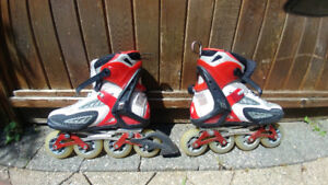 Pro Roller Blades - Crossfire TFS 4D  Excellent condition 75!!!