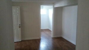 3 bedroom spacious basement apartment with large windows