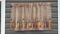 2 sets of kitchen curtains Like NEW