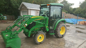 John Deere 3033R with CAB + H165 LOADER + SNOW BLOWER
