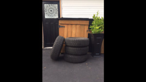 15in GOODYEAR Nordic Winter Tires on Rims
