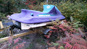 1995 seadoo with trailer