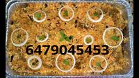 Chicken Biryani Medium/Large Tray Available Mughlai Catering $40