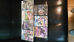 Wii,PS2 & GameCube games