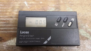 Lucas AngleStar Digital Protractor DP45 with Case