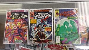 THE AMAZING SPIDER-MAN Comics 203-210-311