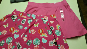 Girls size 16..skirts...Both BRAND NEW WITH TAGS