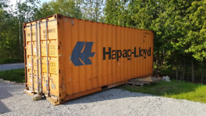 20' AND 40' USED SHIPPING AND STORAGE CONTAINERS ON SALE
